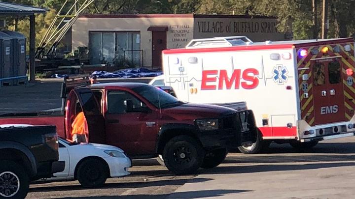Body Found At Buffalo Springs 720