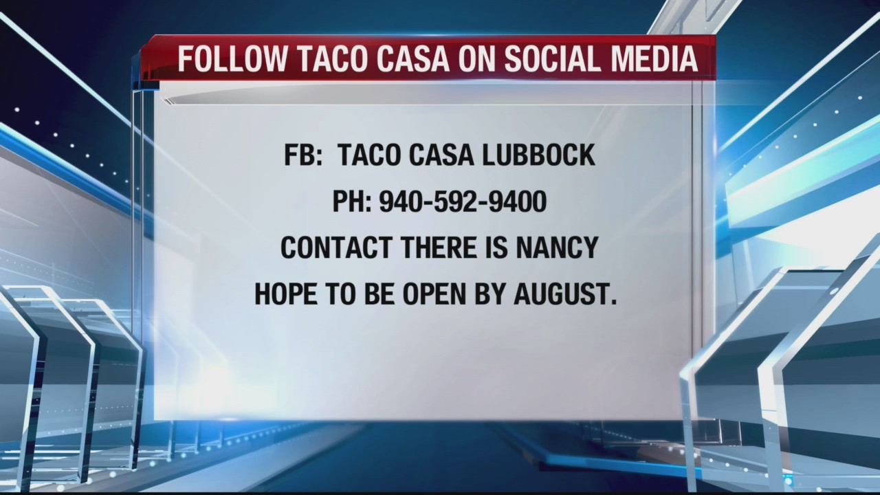 Terri Tells You - Taco Casa coming to Lubbock