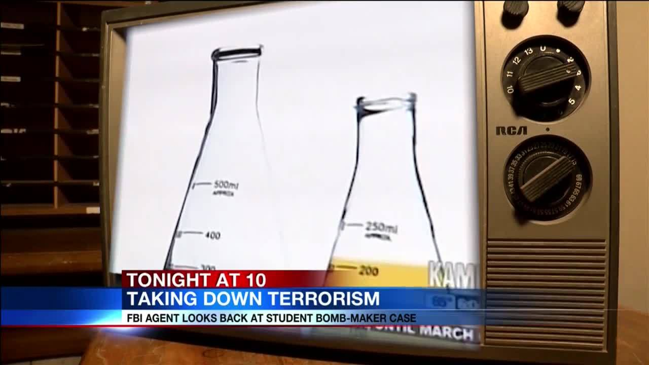 Taking Down Terrorism: FBI agent looks back student bomb-maker case
