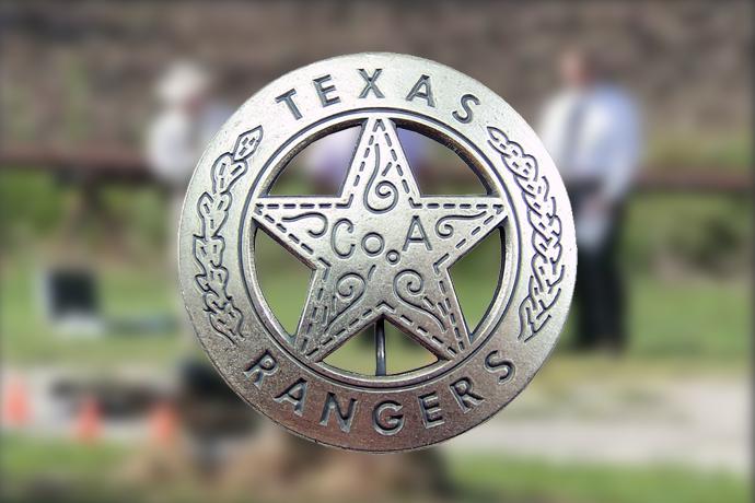 Texas Rangers badge 690