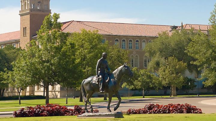 TTU Texas Tech Campus, Will Rogers Statue - 720