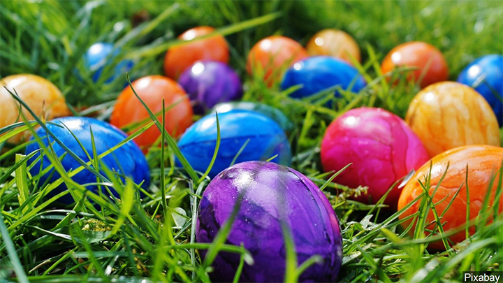 Colorful Easter Eggs - 720