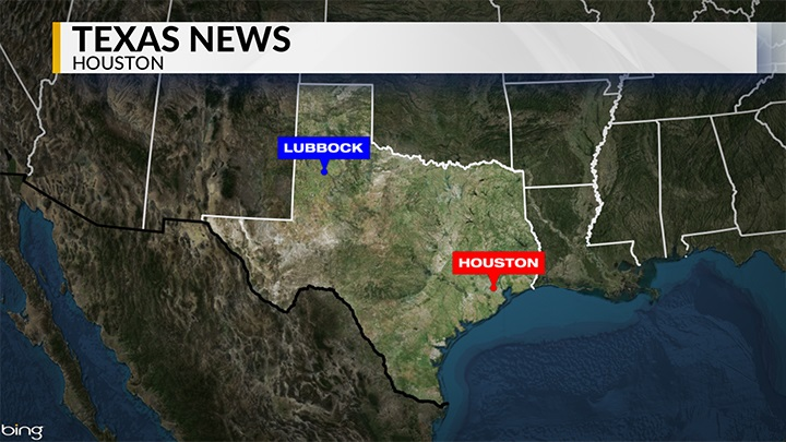 KLBK Houston, Texas News Locator Map - 720