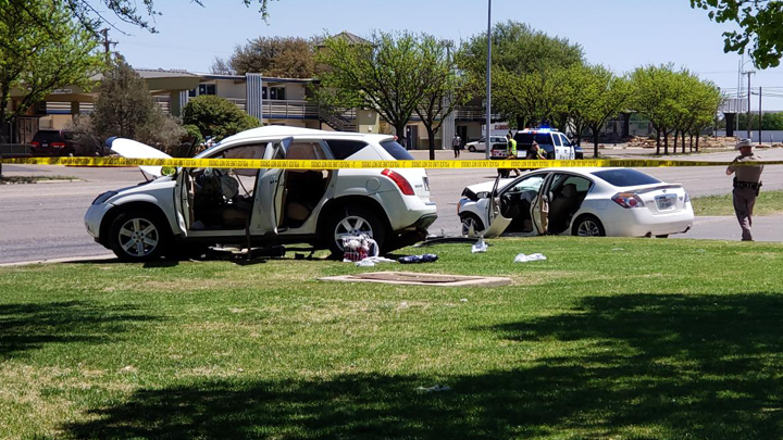 One person dead after major car crash Friday afternoon at Ave  Q and