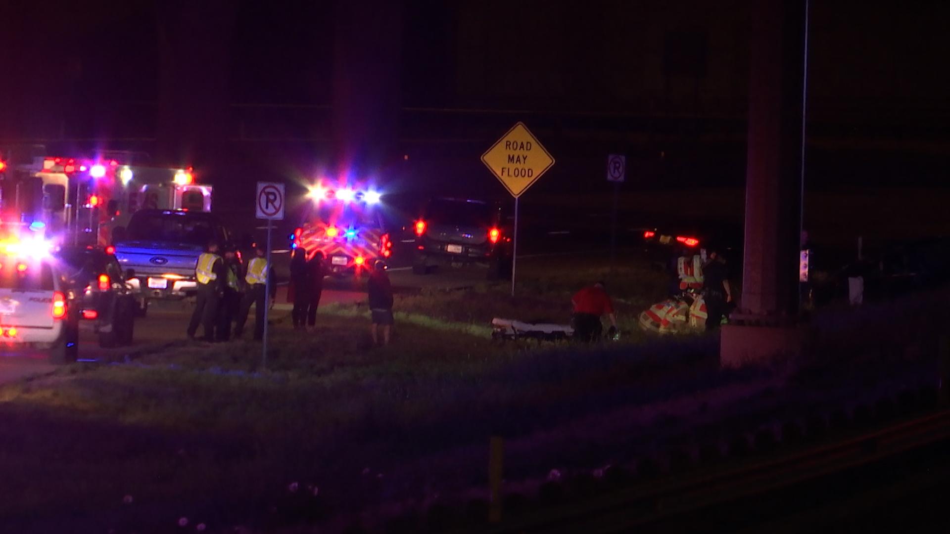 First Responders called to major crash on Marsha Sharp Freeway