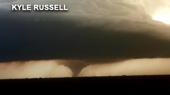 tornado near Dora, NM Kyle Russell 720
