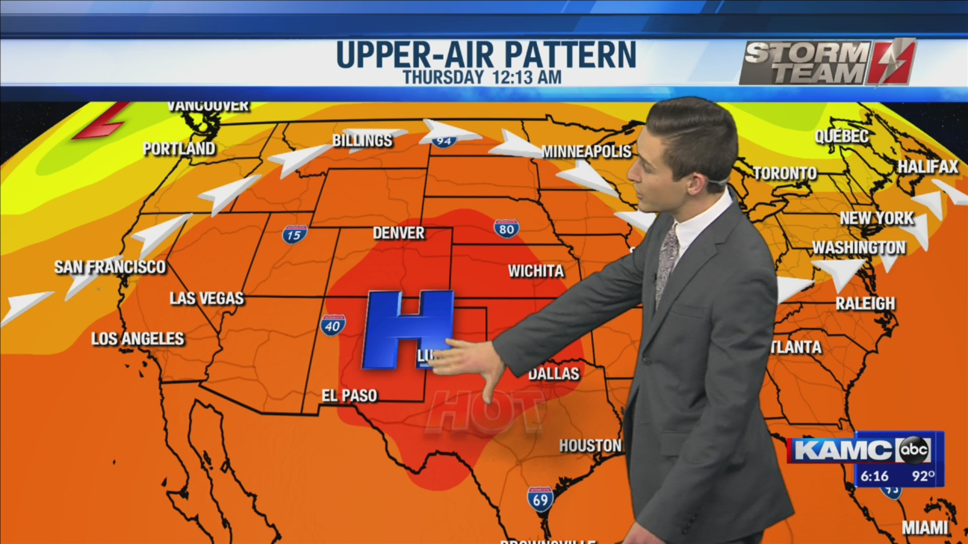 KAMC HD Weather Webcast July 27th, 2019