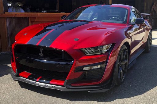 Ford shows most powerful street-legal Mustang with 760 hp – KLBK