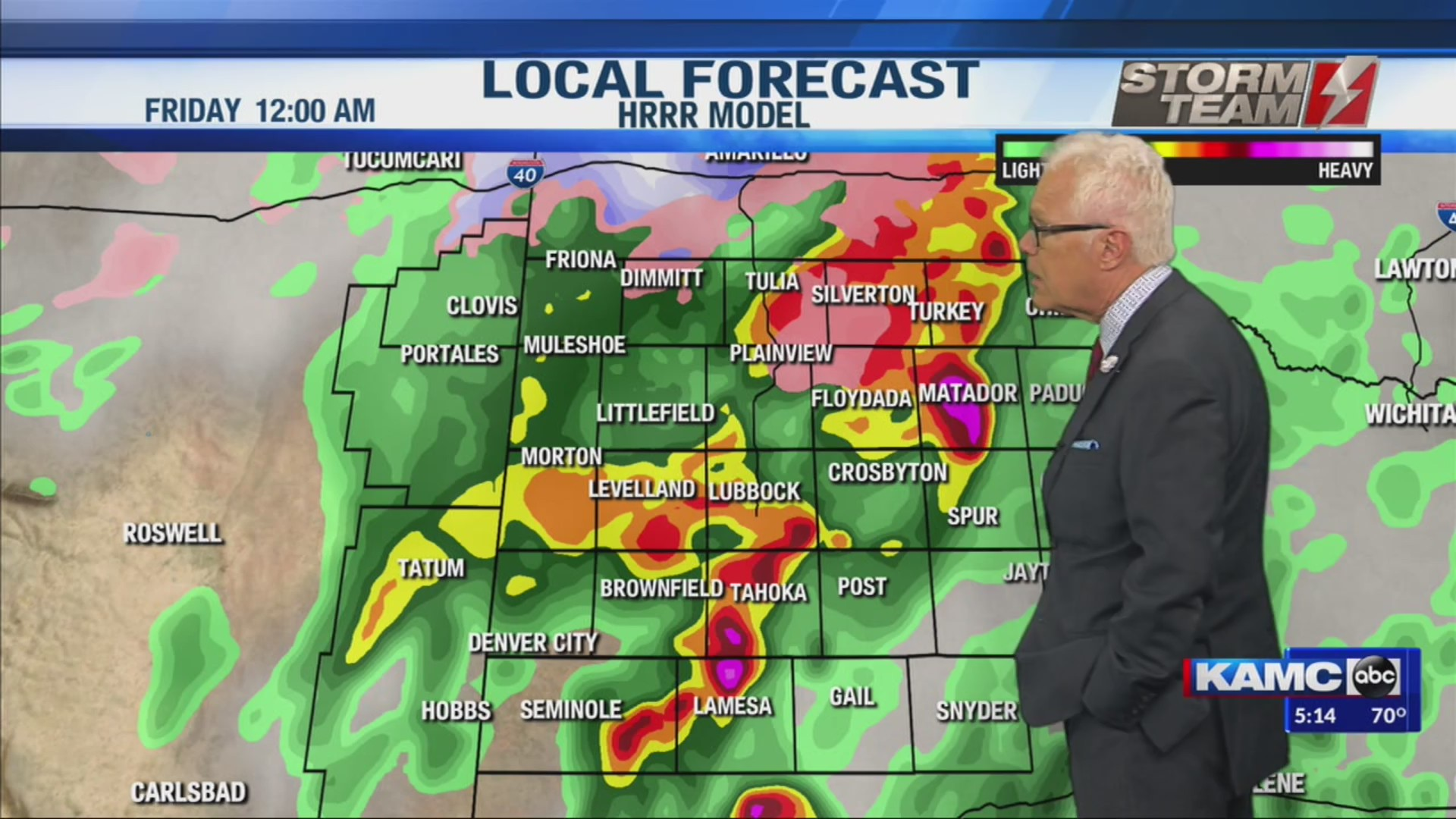 KAMC Weather Webcast with Meteorologist Ron Roberts: November 20th, 2019