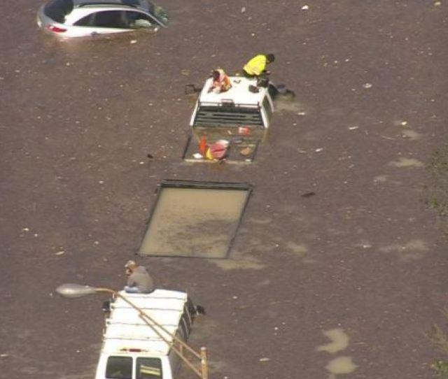 Water Main Break Causes Massive Flooding In Houston Klbk Kamc