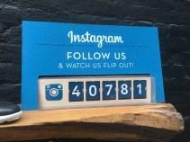 Instagram Split Flap Counter