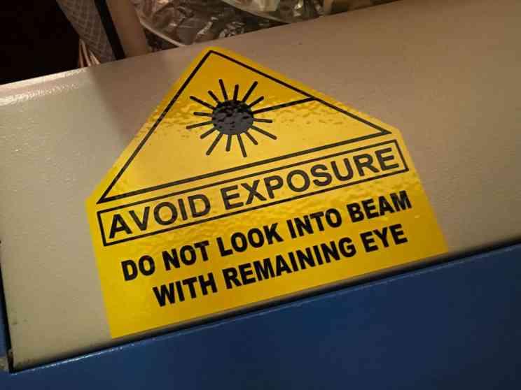 Laser Stickers-4 Avoid Exposure