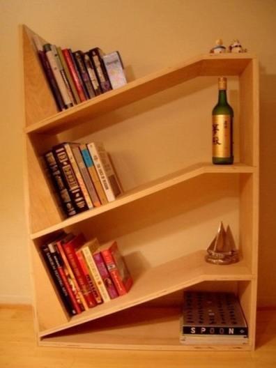 Slant Bookshelf