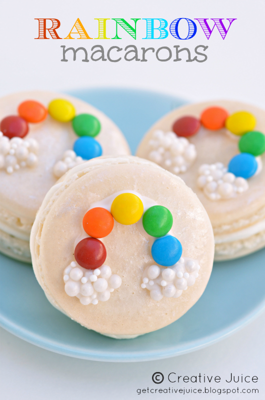 Rainbow Macarons resized