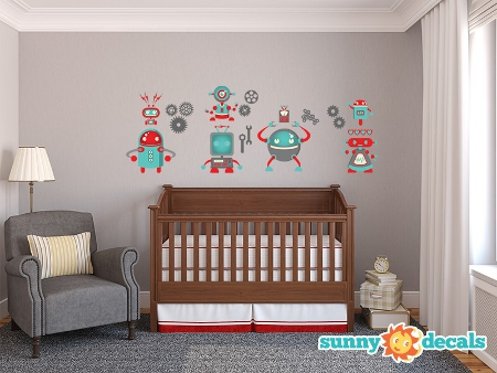 robot_wall_decals