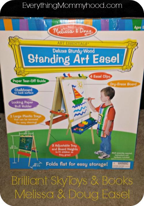 Brilliant Sky Toys Books Review Melissa Doug Easel