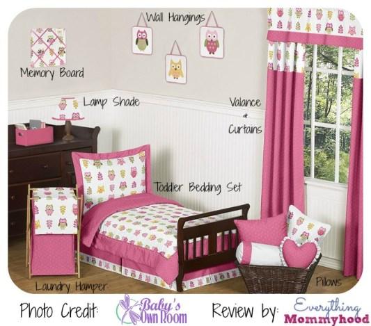 PinkOwlToddler Room