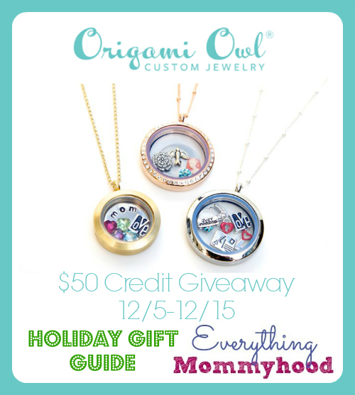 Here At Everything Mommyhood We Love Origami Owl I Have A Couple Necklaces And Handful Of Charms Knew This Would Be Perfect For Our Holiday Gift