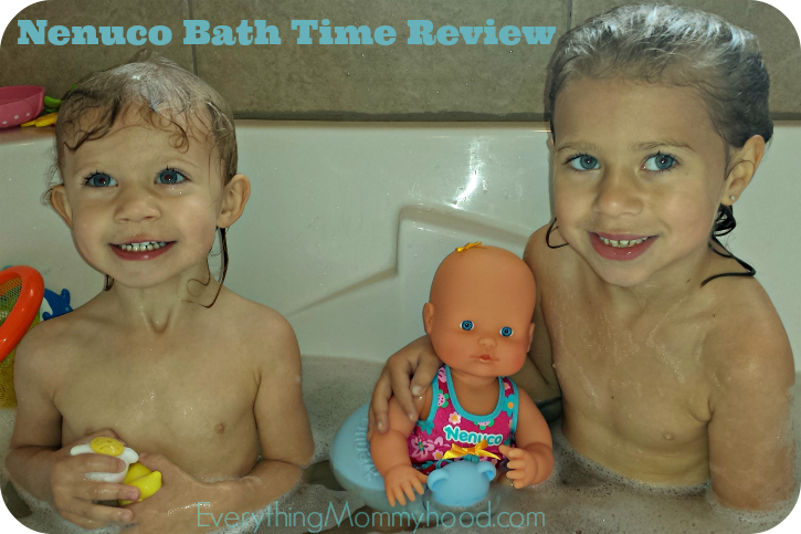 Review: Nenuco Bath Time Baby Doll Set - Everything Mommyhood