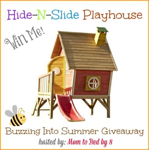Hide-N-Slide Playhouse Giveaway
