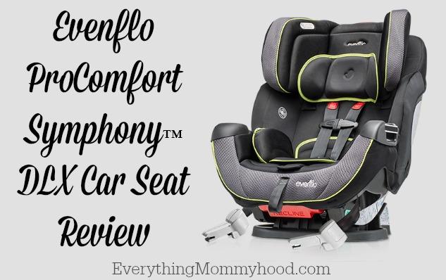 Evenflo ProComfort Symphony™ DLX Car Seat Review #EvenfloPlatinum ...