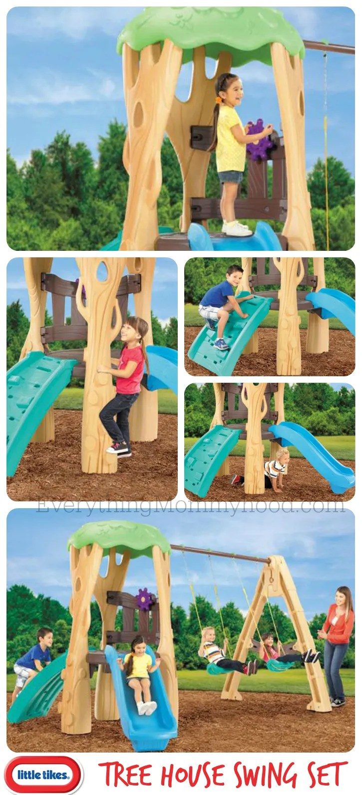 Little Tikes TreeHouse Collage