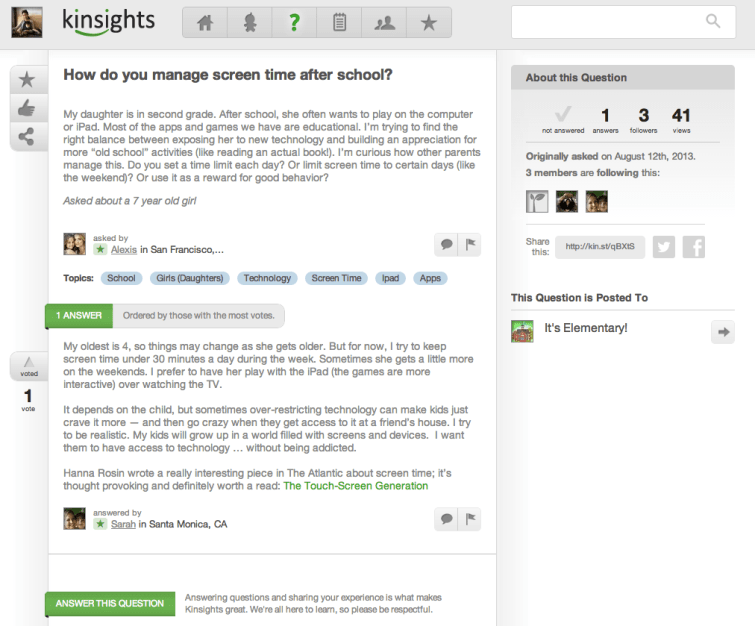 Kinsights Forum