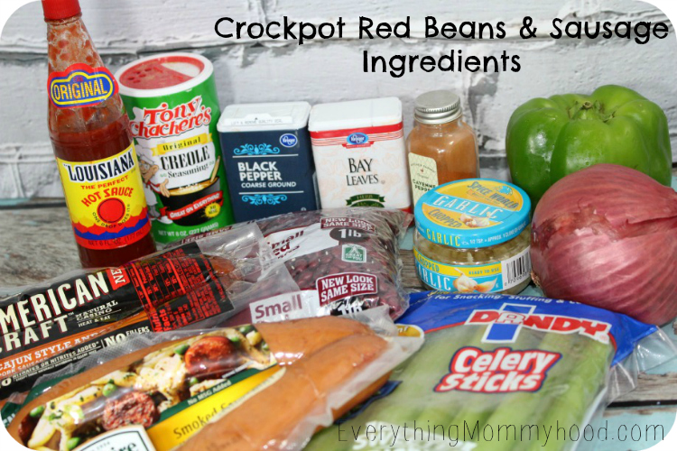 Red Bean Ingredients