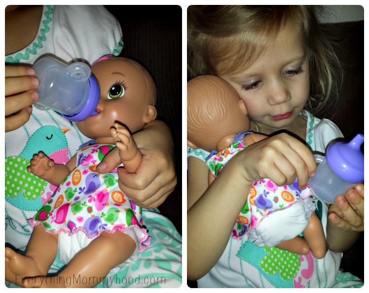Baby Alive Collage