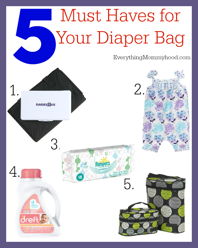 DiaperBag Must Haves