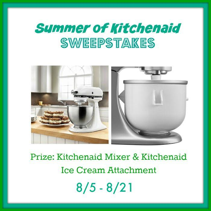 Kitchen Aid Mixer Ice Cream Attachment Giveaway Ends 8 21 Everything Mommyhood