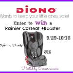 Diono Rainier Convertible Car Seat Giveaway – ends 10/18