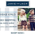 Great Sale at Janie and Jack – 20% Sale and Free Shipping – Coupon Code