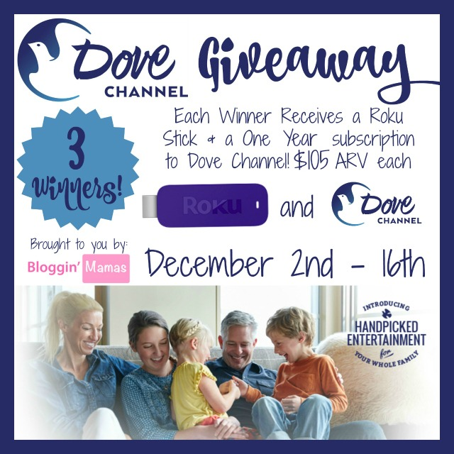 DoveChannelGiveaway