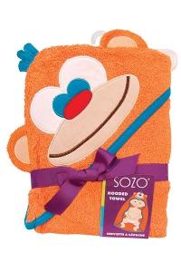House Monkey Giveaway sozo monkey hooded towel