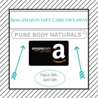 Giveaway: Win A $100 Amazon Gift Card (Ends 4/12)