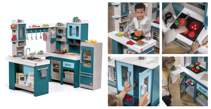 Step2 Grand Walk In Wood Play Kitchen Accessories Giveaway Ends 12 13 Everything Mommyhood