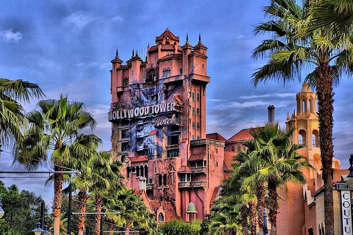 disney world rides and attractions tower of terror