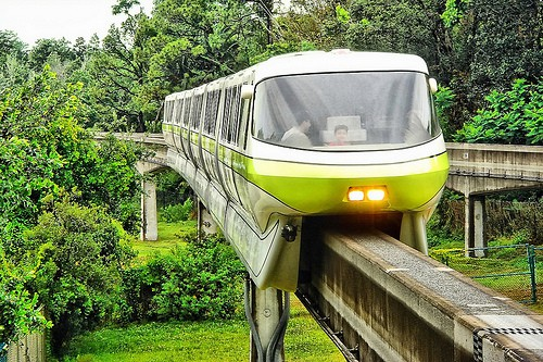 disney world resort monorail closure