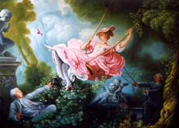 Jean-Honoré Fragonard's masterpiece The Swing