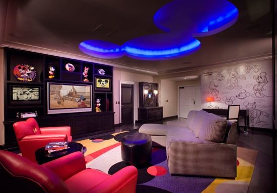 Disneyland Hotel Mickey Mouse Penthouse Suite