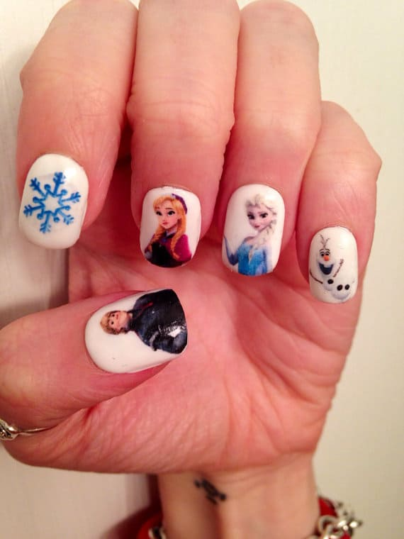 Buy Disney Frozen Nail Decals