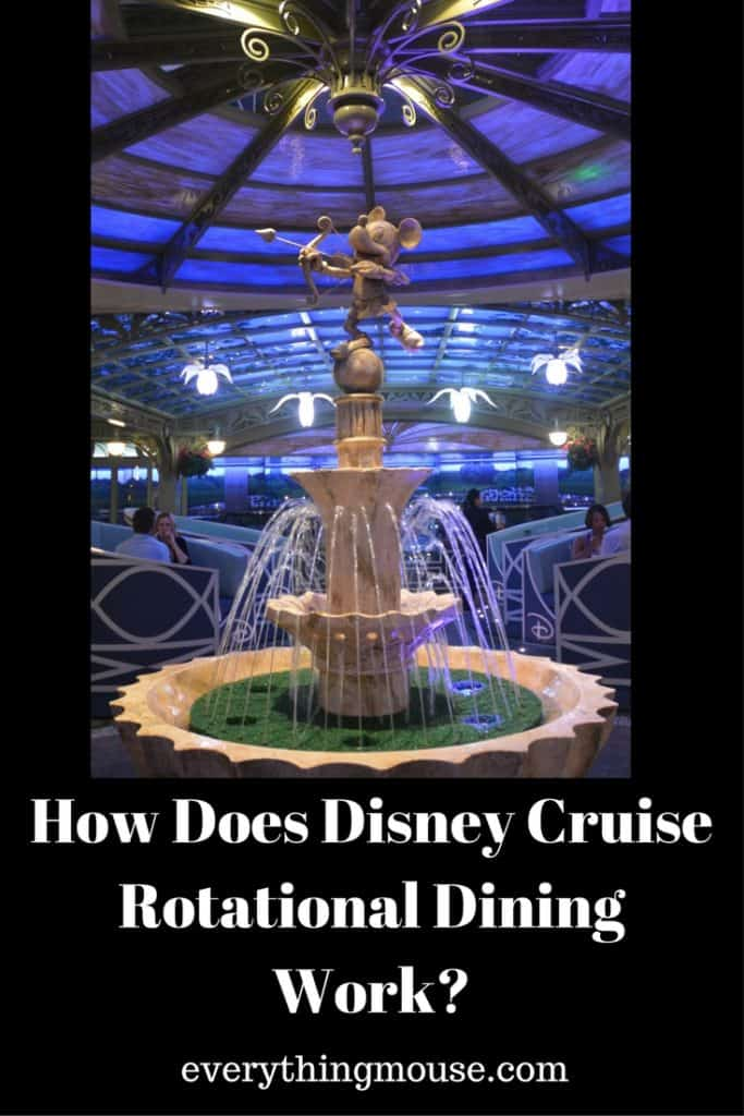 How Does Disney Cruise Rotational Dining Work EverythingMouse Guide To Disney