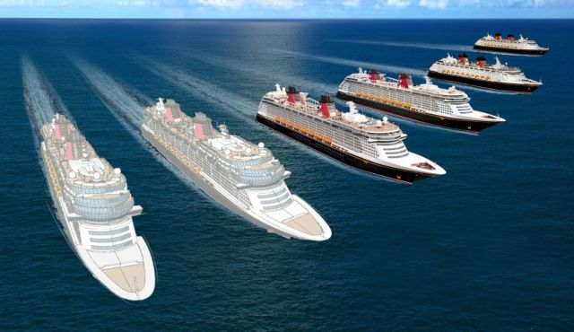 Disney Cruise Line New Ships