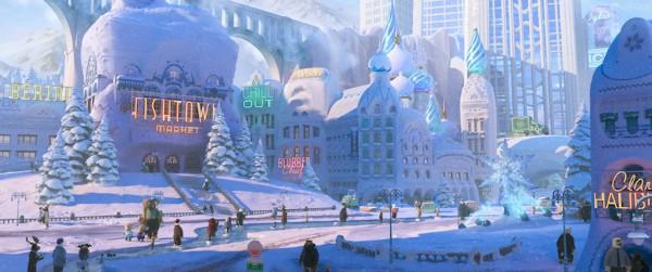 Zootopia Frozen References