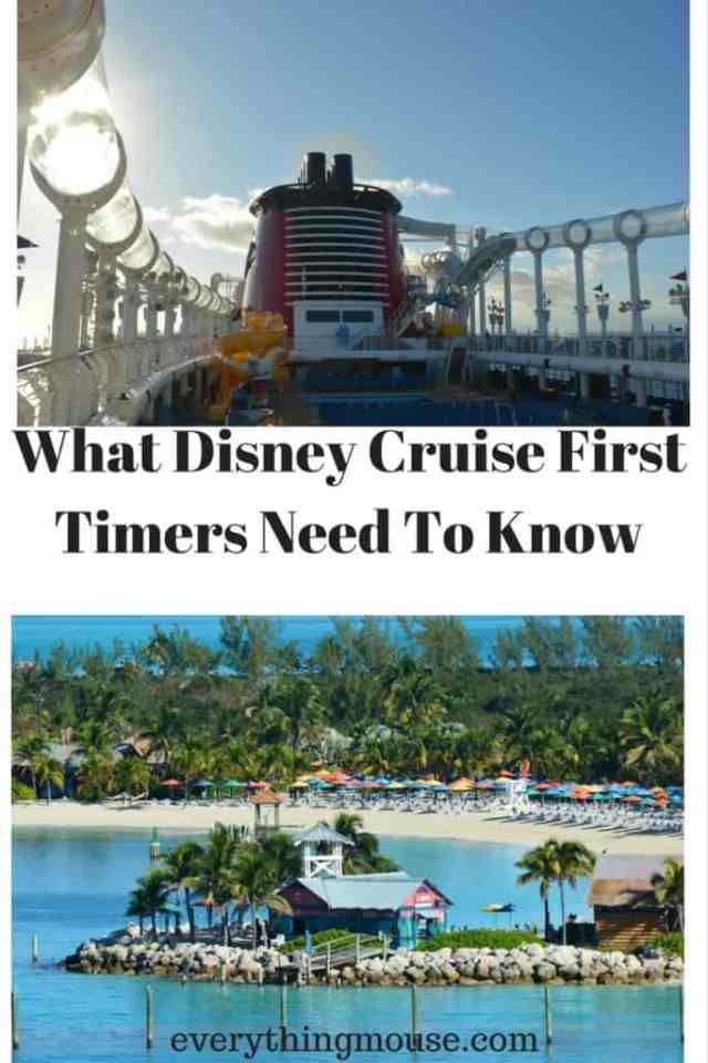 What Disney Cruise First Timers Need To Know