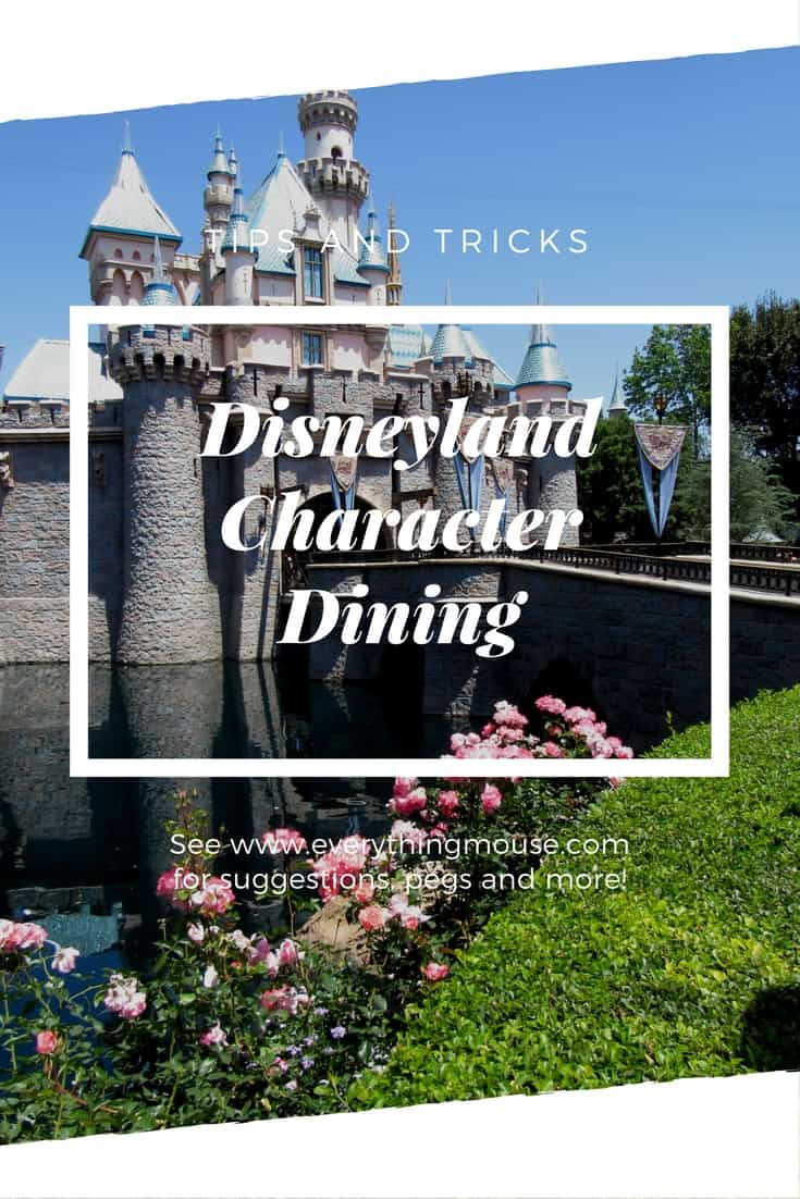 Disneyland Character Dining