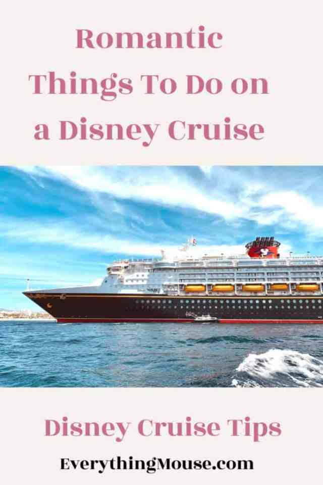 Romantic Things To Do on a Disney Cruise