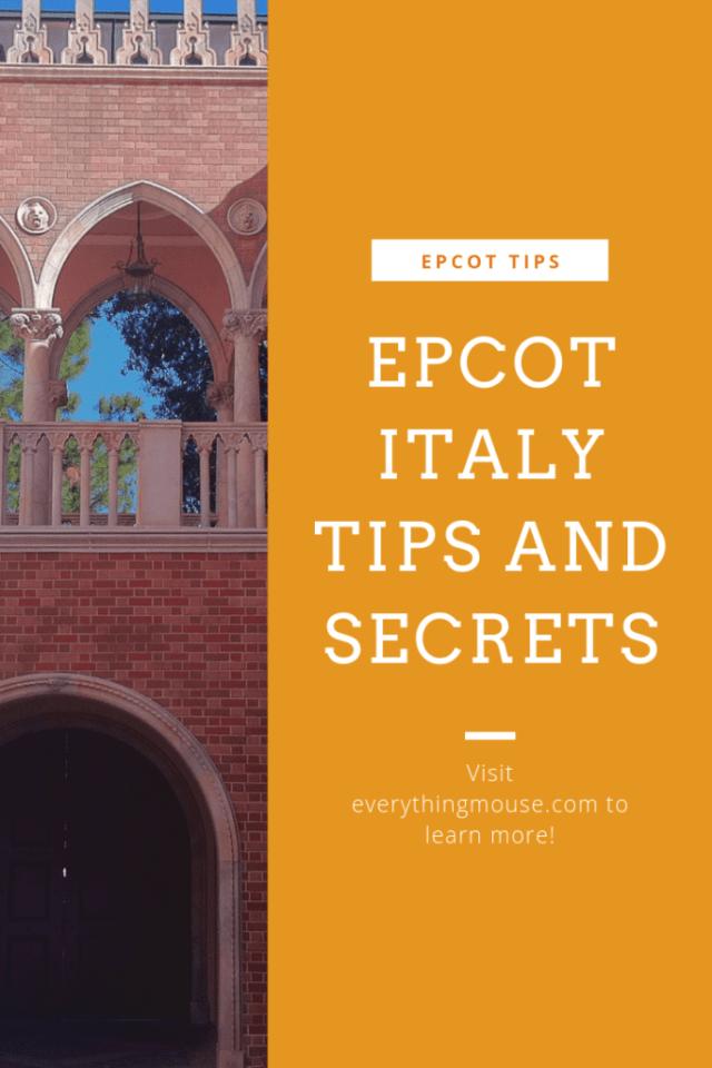 Epcot Italy