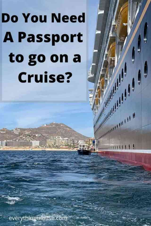 Do You Need A Passport to go on a Cruise_